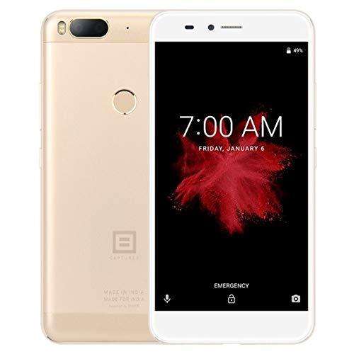 QINGYI YANGZILING CELINEZL Cámaras duales traseras, identificación de Huellas Dactilares, 5.5 Pulgadas Android 7.1.2 Qualcomm MSM8953 Snapdragon 625 Octa Core hasta 2.0GHz, Red: 4G (Color : Gold)