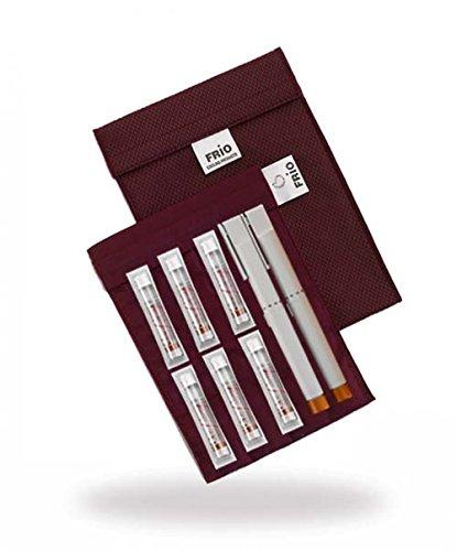Frio Grote koeltas voor Insulin, 14 x 19 cm wijnrood