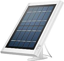 Ring Panel Solar para Spotlight Cam, mantenga su batería siempre cargada, blanco