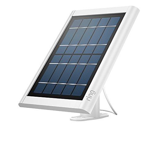 Ring Solar Panel für Spotlight Cam Battery und Stick Up Cam Battery, Weiß
