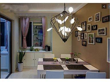 Moderne kroonluchters plafond lampen hanger herstellen oude manieren smeedijzeren diamant vogelkooi kroonluchter 3C ce Fcc Rohs voor woonkamer slaapkamer