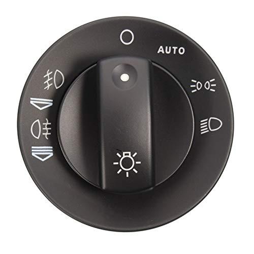 RuYunLong Kit de reparación de Interruptor de luz antiniebla del Faro Tapa con Accesorios de Coche con función automática/Apto para - Audi A4 S4 8E B6 B7 2000-2007 /