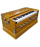 Package Content: 1 Harmonium and Carry Bag. Material: Indian Teak Wood. Harmonium with 39 Keys, 7 Stoppers and Double Bellow with two Reeds (1 Bass and 1 Male). Disclaimer : Color may Slightly vary from the image.