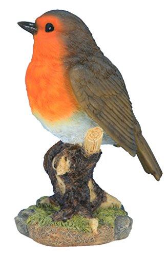 Animaux En Resine 3580792003412 Gorge sur Branche, Rouge, 9,9x7,7x14,3 cm