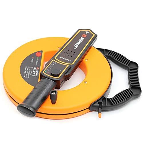 NINGXUE-MAOY Humidimètre numérique pour Bois Tuyau de Pipeline de jauge d'épaisseur de Scanner de Tuyau de 40m bloquant Le Blocage du Trouveur obstruant la Largeur du Plombier Instrument de Mesure