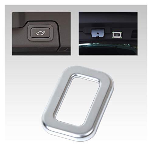 furong Cubierta cromada para interruptor de puerta trasera de coche, ajuste para Range Rover L405 Sport L494 EVOQUE 2014-2015