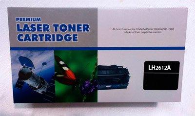 Toner Sustituto HP Q2612A FX9 FX10 HP Laserjet 1010,1012,1015,1018,1020,1022 (HPQ2612A)