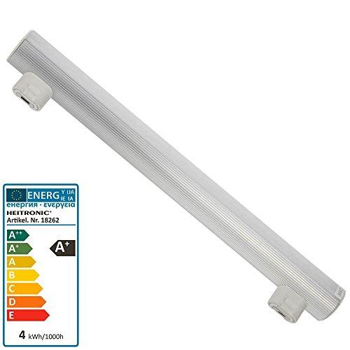Heitronic LED Linienlampe 4 Watt 2 Sockel S14s 300mm 2900 Kelvin warmweiss