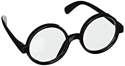 Black Frame Round Glasses