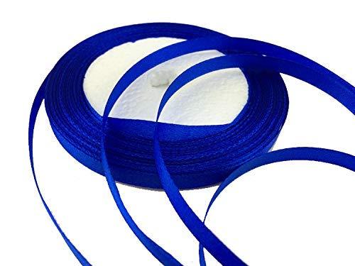 Solid Color Satin Ribbon 1/4',25yds (Royal Blue)