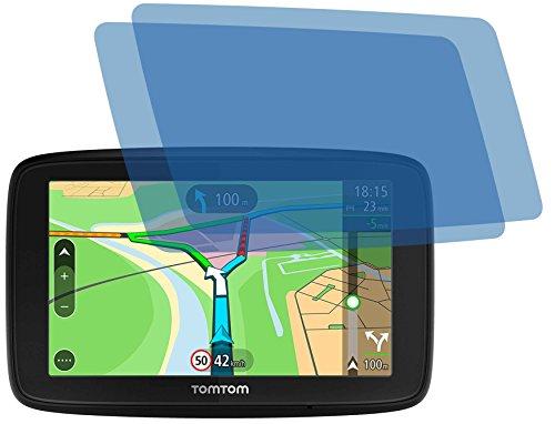 4ProTec I 2X ANTIREFLEX matt Schutzfolie für Tomtom Via 53 Premium Displayschutzfolie Bildschirmschutzfolie Schutzhülle Displayschutz Displayfolie Folie