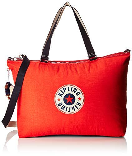 Kipling XL BAG Strandtasche, 64 cm, 31.5 L, Active Red Bl
