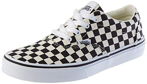 Vans Doheny Zapatillas, Sneaker, Checkerboard Black Classic White, 36 EU