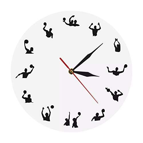yage Reloj de Globo de Agua Reloj de Pared Deportivo Reloj de Pared Moderno Reloj de decoración Globo de Agua Decoración del hogar Arte de Pared contemporáneo