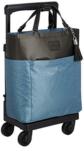 [スワニー] キャリーバッグ D-284 カトゥサコ(M18) 機内持込可 ブルー 三愛オリジナル折りたたみサブバッグ付