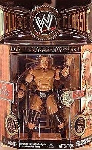 Garantía 100% de ajuste WWE DELUXE CLASSIC THE ROCK ACTION FIGURE SERIES 1 1 1 by Jakks  ¡no ser extrañado!