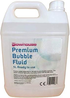 Premium Quality 5 Litre Bubble Fluid Kids Bubble Solution Bubble Machine Bubble Mix Bubble Liquid for Bubble Gun, Bubble Wands