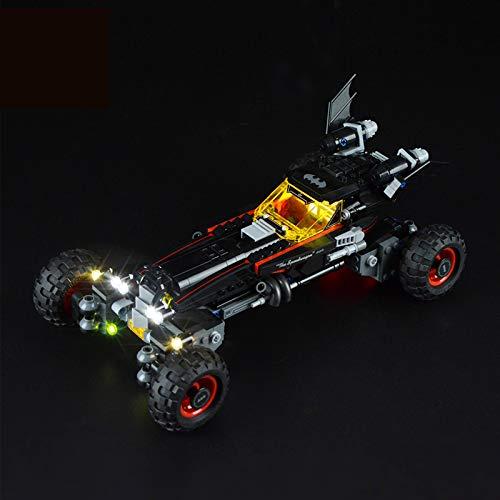 Kit De Iluminación Led para Lego Batman Chariot, Compatible con Ladrillos De Construcción Lego Modelo 70905 (NO Incluido En El Modelo)