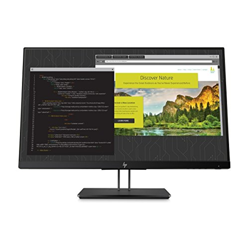 HP Z Display 23.8-inch Bildschirm LED beleuchtetes Monitor Black Pearl (1js07a4# ABA)