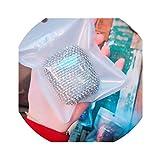 Funda rígida para Auriculares Airpods 1 y 2, diseño de Diamantes de imitación