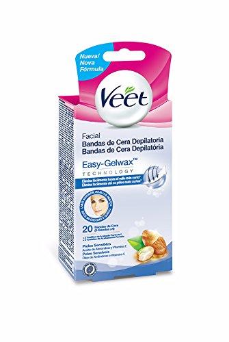 Veet Bandas De Cera Kaltwachsstreifen, 1er Pack (1 x 0.2 kg)
