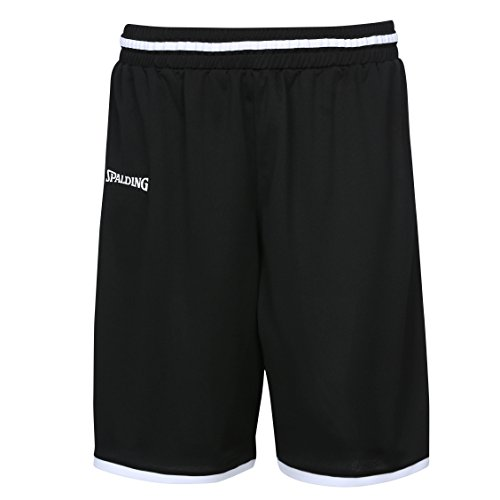 Spalding Unisex-Child 300514001_164 Shorts, Black,White