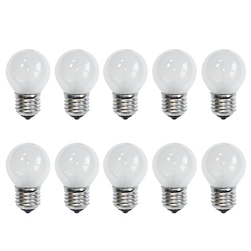10 x Glühbirne Tropfen 40W E27 MATT Glühlampe Glühbirnen Glühlampen 2700k warmweiß DIMMBAR (40 Watt)