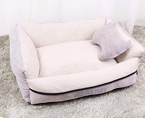 Pet Nest Kennelpet Benodigdheden Hondenhok Hondenhok Groot en Middelgroot Hond Hondenbed Warm Huisdier Sofa Kruk Duurzaam Puppy Bed Kattenbakvulling