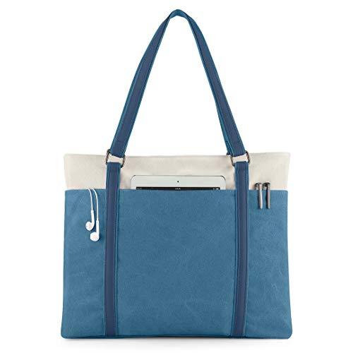 Wxnow Women Canvas Tote Handbag ...