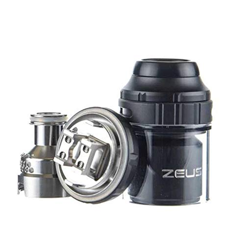 Geekvape Zeus X RTA Tank| E Cig 4.5ml Capacità Atomizzatore Vape Supporta Single/Dual Coil&Top Airflow (Nero) senza nicotina