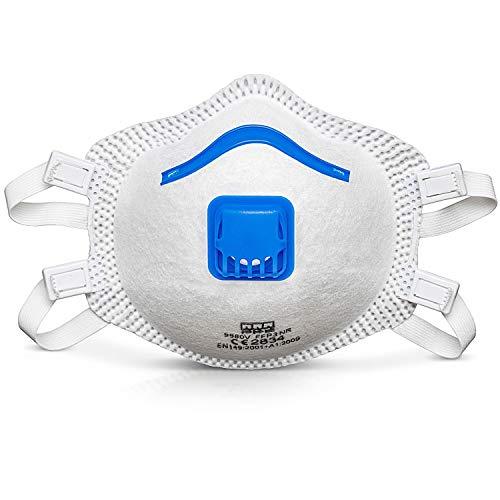 VEVOX® FFP3 Masken *NEU* - Im 5er Set - mit Komfort Plus Abdichtung - Atemschutzmaske FFP3 mit Ventil - CE Zertifiziert für den zuverlässigsten Schutz - 4