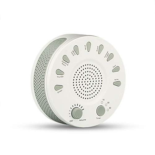 Sleep Soothing White Noise Machine Sleep Tones Sound Therapy Machine Sound Conditioner met Natural Sound Timer optie wit