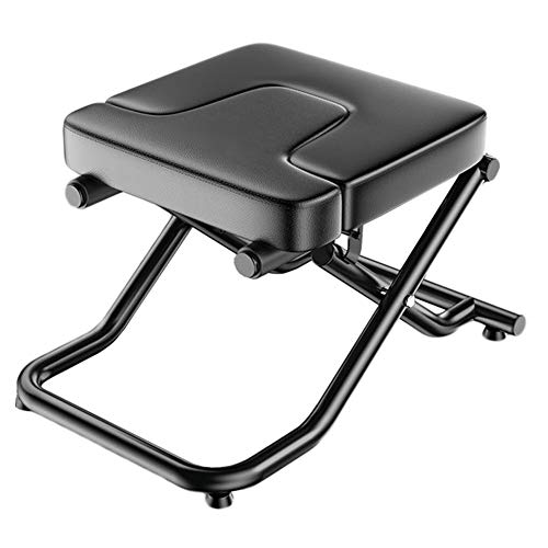 Buy Bargain LXLA Heavy Duty Yoga Headstand Stool - Metal Inversion Bench with Thicken PU Cushion, Ha...