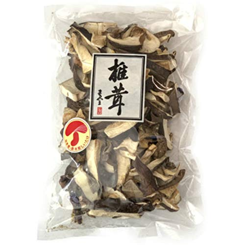 原木栽培 無農薬 佐賀県産 乾しいたけ スライス (厚切り) 100g