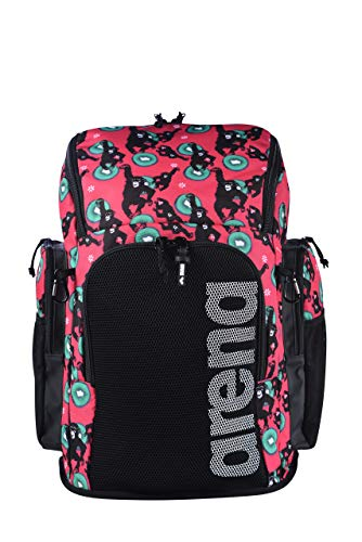 ARENA Bolsa Team Backpack 45 Allover Monkey, Unisex Adulto, Talla Única