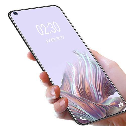 Móviles y Smartphones Libres,OUKITEL C21 Android 10 4G Telefonos Moviles Dual SIM,Pantalla FHD+ de 6.4' 4GB RAM+64GB ROM Helio P60 Móviles,4000 mAh Bateria Cuatro Cámaras Smartphone,Negro