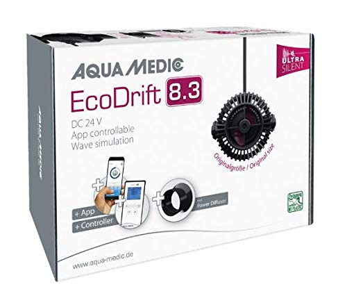 Aqua Medic EcoDrift 8.3 Ultra Silent, Steuerung über Controller und App