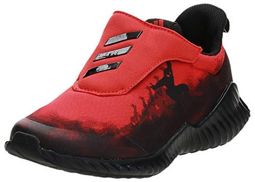 Adidas Fortarun Spider-Man AC K, Zapatillas de Deporte Unisex niño, Multicolor (Rojact/Negbás/Ftwbla 000), 33 EU