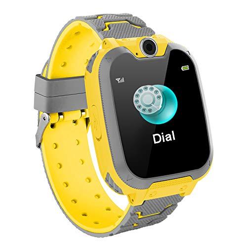 Smartwatch154 Zoll Touch Farbdisplay Kinder Smartwatch mit Kurzwahl Musik Wecker Spiel Kamera Taschenlampe IPX65 Water Resistant SOS
