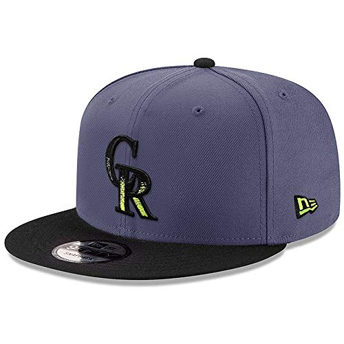New Era MLB Colorado Rockies 9FIFTY Snapback 2Tone Cap, Adjustable Hat