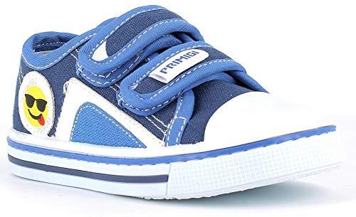 PRIMIGI 7445800 Sneakers Scarpe Bambino Canvas Strappi 22/Blu