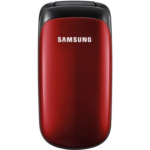 Samsung E1150i Handy (3,6 cm (1,43 Zoll) Display) rot