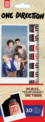 Fizz Creations One Direction Nail Tatouages temporaires - Art & Crafts