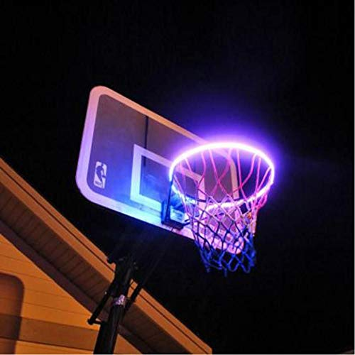 Hoepellicht Led Verlichte Basketbalrand Nachtschieten Accessoires Benodigdheden Voor Kinderen Spel Kinderen Buitenspeelgoed