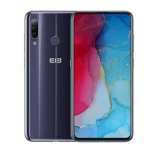 Smartphone ELEPHONE A7H 6.41inch 4GB 64GB Helio P23 Octa Core Mobiltelefon, 13+2+0.3Dreifache Rückfahrkameras,Android 9.0,Dual SIM+ SD Handy,Globale Version (Schwarz)
