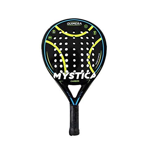 Mystica - Pala Quimera, Pala de Pádel para Jugadores de Nivel Profesional Avanzado, Fabricado en Carbono