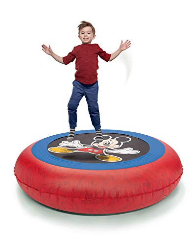 Mickey Ball Pit Bouncer 2-in-1 with 50 Balls for Kids, Boys, Girls - 55lbs Max