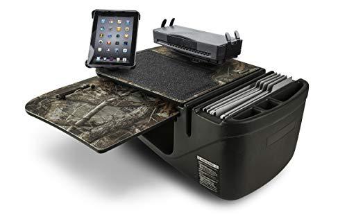 AutoExec AUE18775 GripMaster Auto Schreibtisch Auto Schreibtisch Realtree Edge Camouflage mit eingebautem 200 Watt Wechselrichter, Druckerständer und Tablethalterung