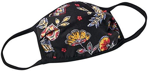 DressBarn Women's Navy Batik Floral Fashion Mask Dress - O/S