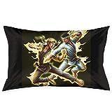 Cobra Kai - Fundas de cojín cuadradas de karate para sofá, silla, fundas de almohada decorativas para sala de estar, cama, coche, 50 x 76 cm